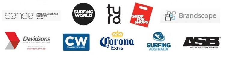 Block of logos