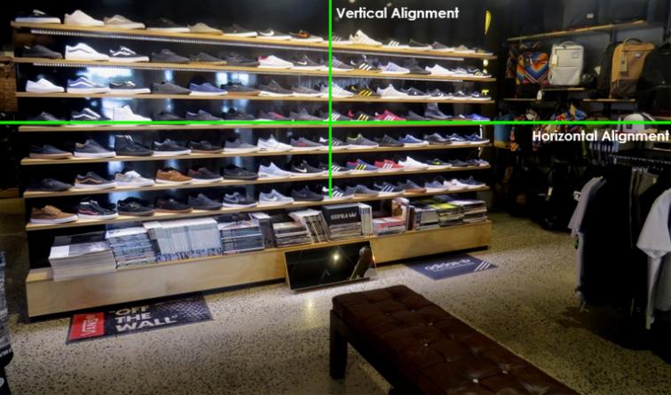 Blunt Skateboard Co's Footwear Wall